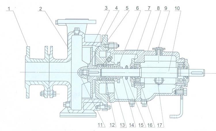 泵盖cad绘图步骤
