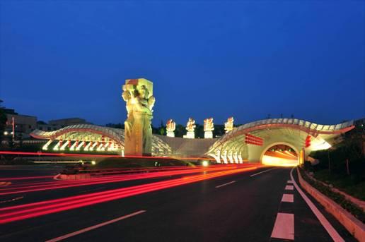 国内首条海底隧道福建厦门翔安隧道,使用我公司隧道专用泵